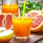 Grapefruit Juice with Apples