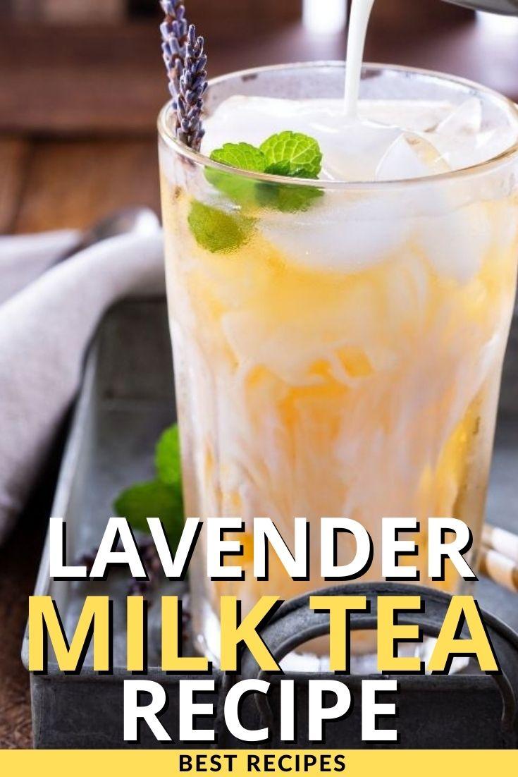Lavender Milk Tea Recipe