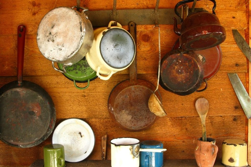 What to Do with Old Pots and Pans
