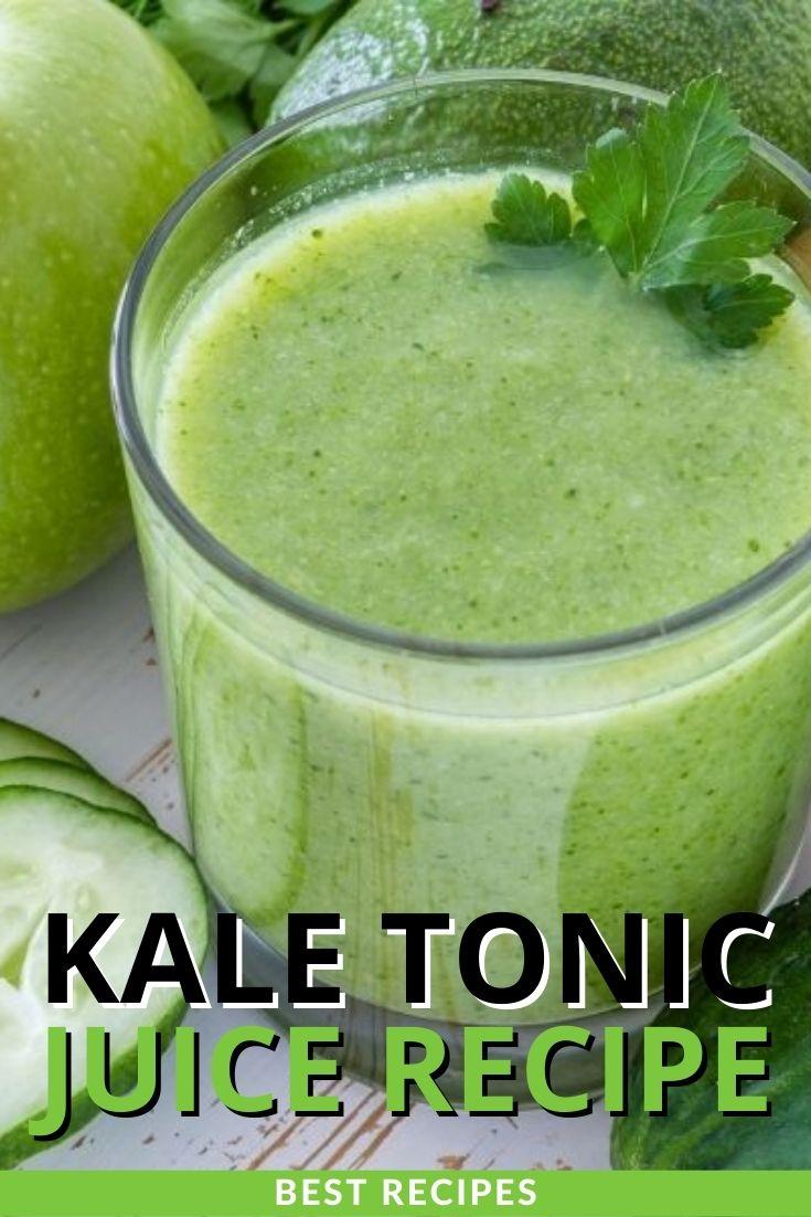 Kale Tonic Juice Recipe