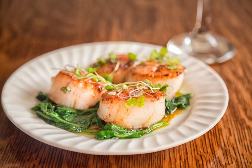 Seared Scallops -What to Serve with Risotto