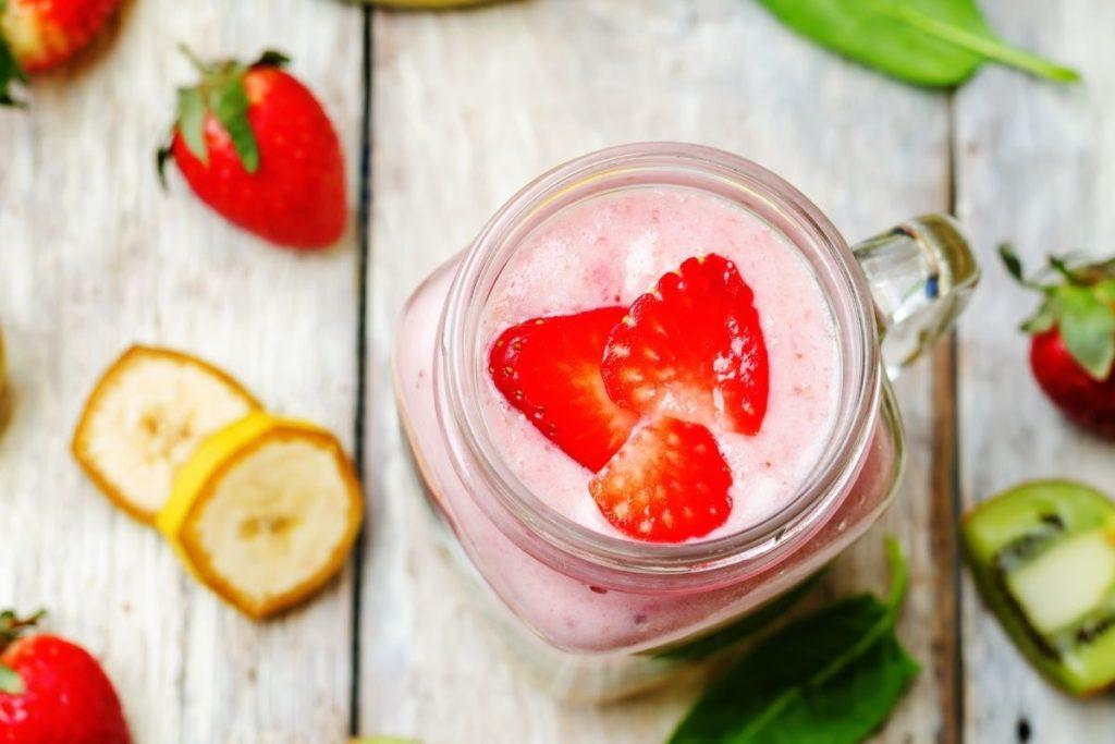 Tropical Smoothie Kiwi Quencher Recipe