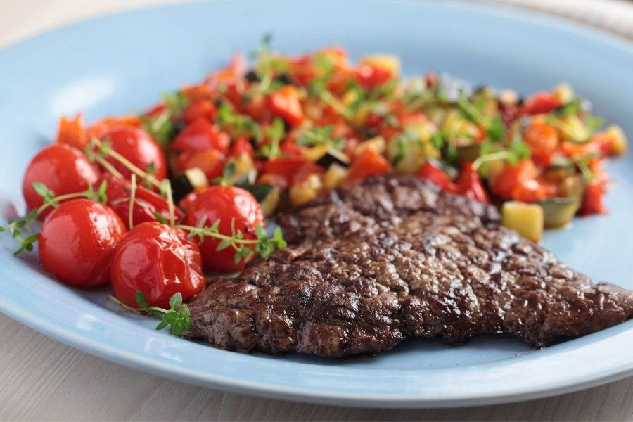 Steak - What to Serve with Ratatouille