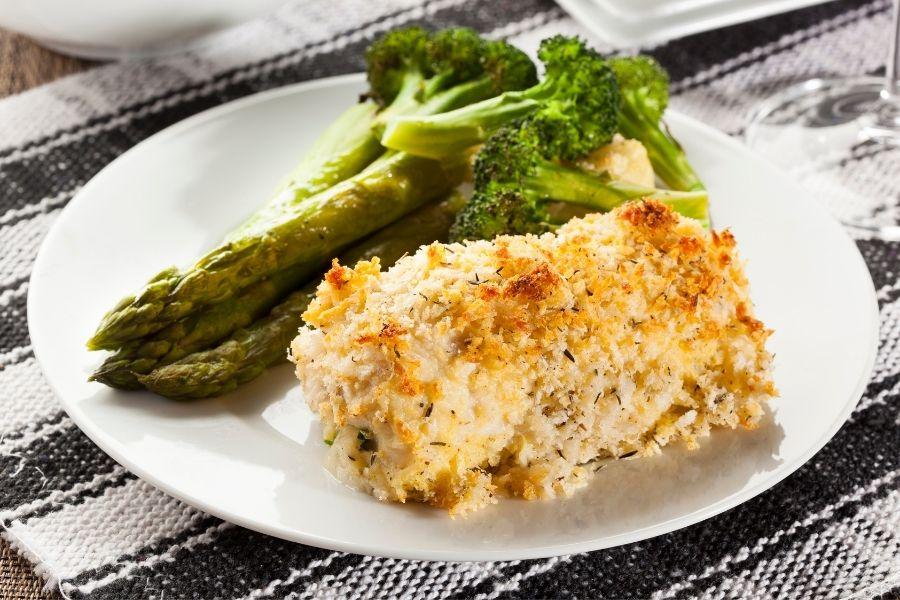 Vegetables sides for chicken cordon bleu