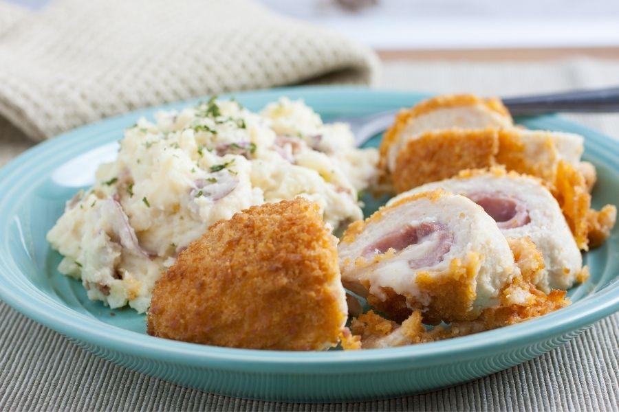 Mashed Potatoes side dish for chicken cordon bleu