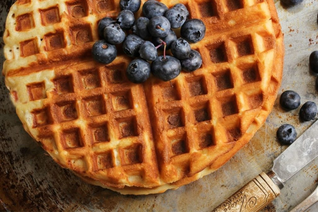 What to Serve with Waffles- Blueberries