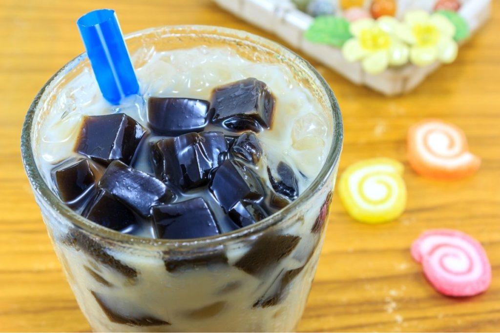 Grass Jelly Drink Recipe