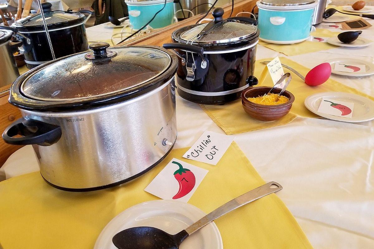 different crock pot sizes