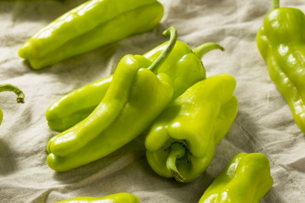 Cubanelle Peppers - Substitutes for Green Pepper