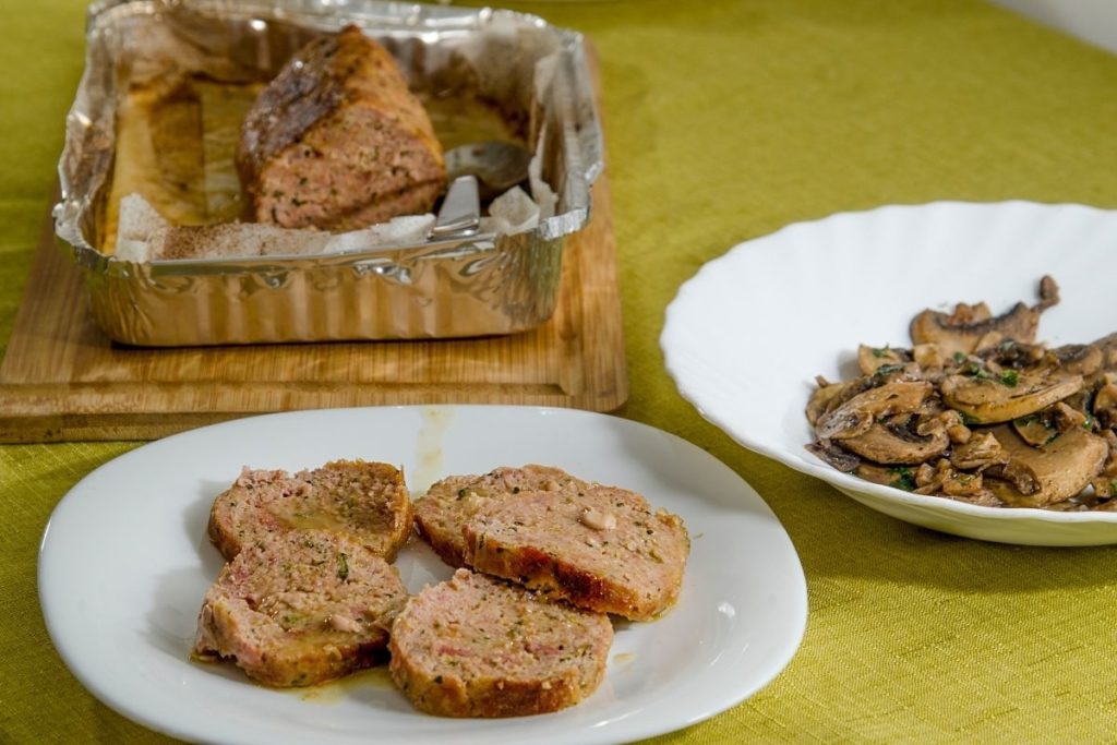 How To Reheat Meatloaf - Oven