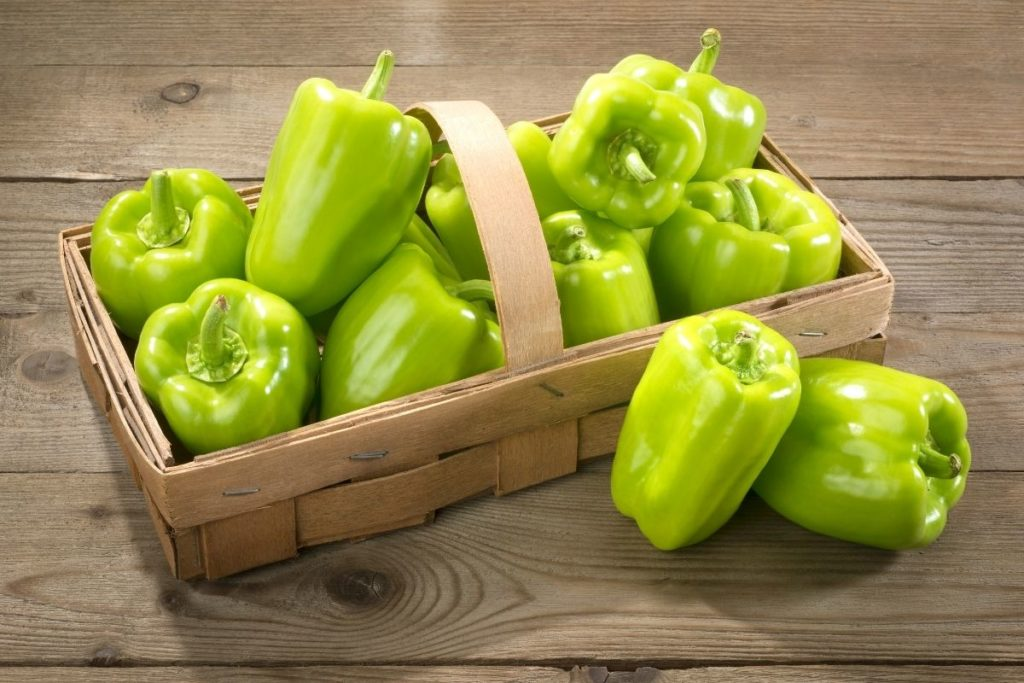 Substitutes for Green Pepper