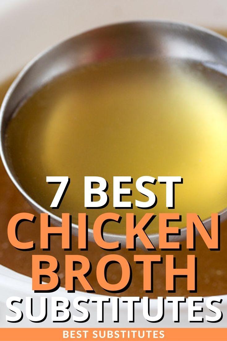 Best Chicken Broth Substitutes
