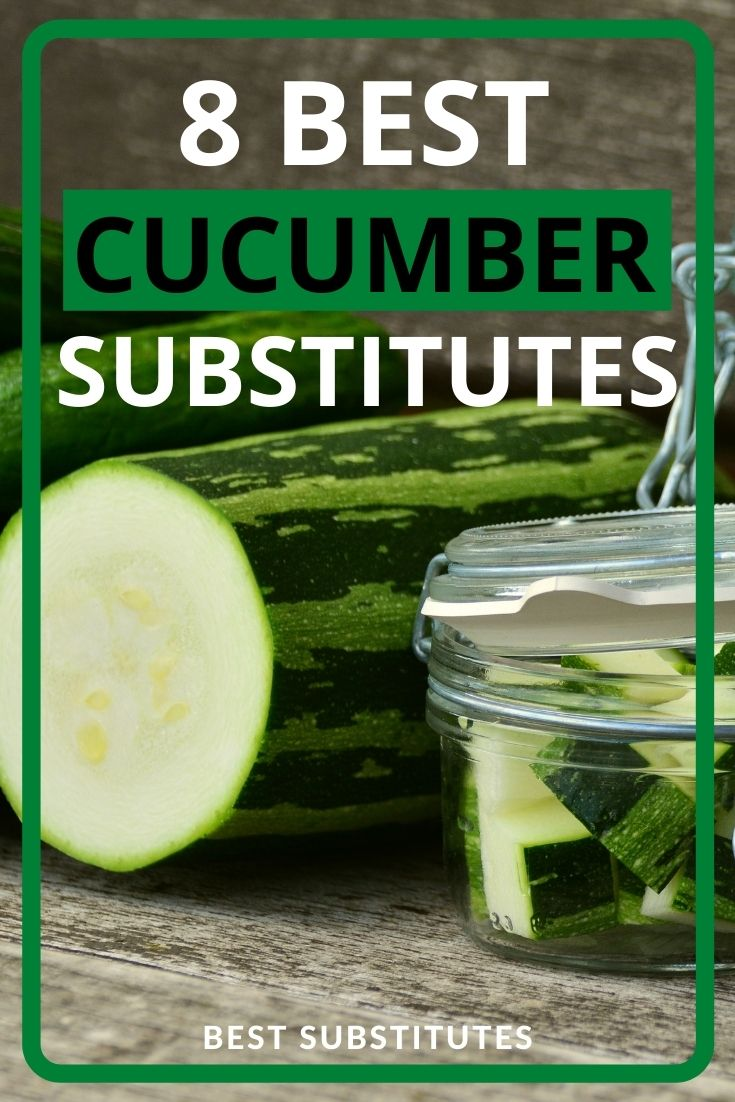 Best Cucumber Substitutes