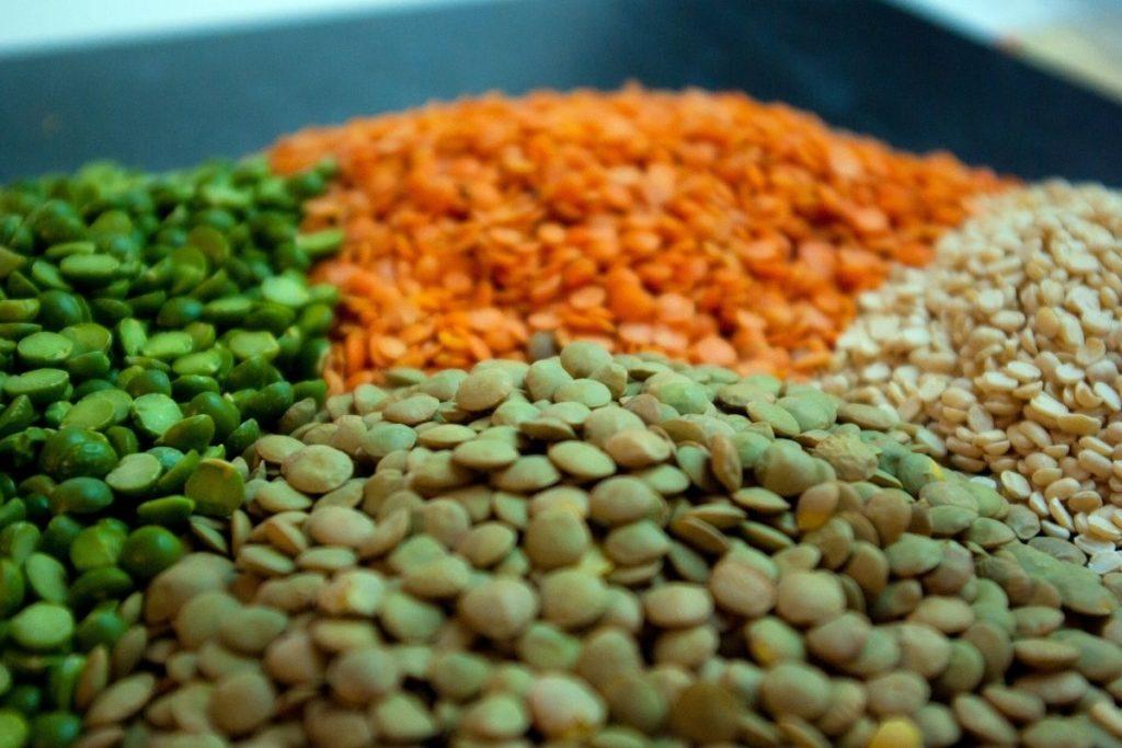 Edamame, Lentils, or Split Peas