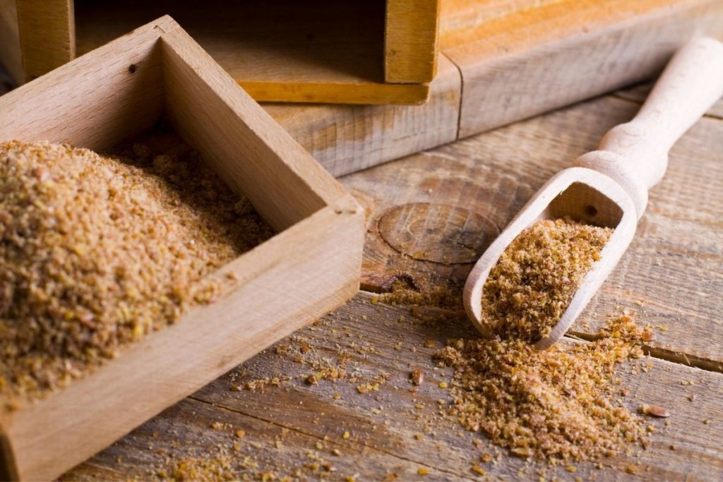 Ground Flaxseeds - Wheat Starch Substitutes