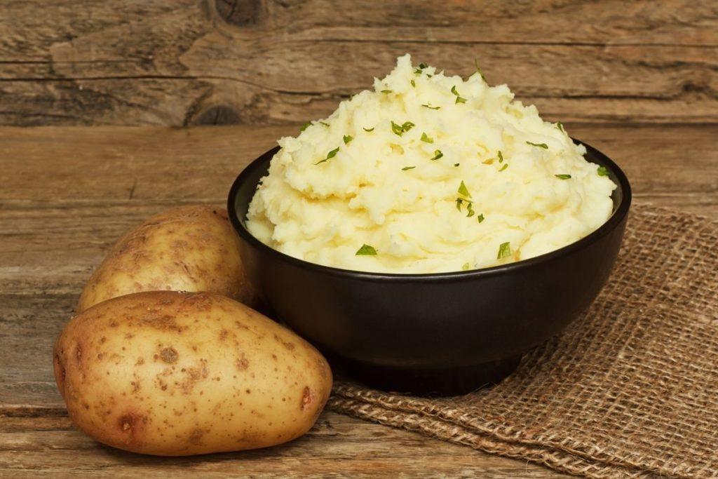 Mashed Potato - Potato Flour Substitutes