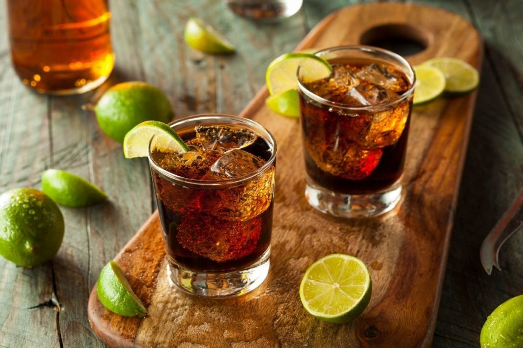 Rum -Substitutes For Brandy