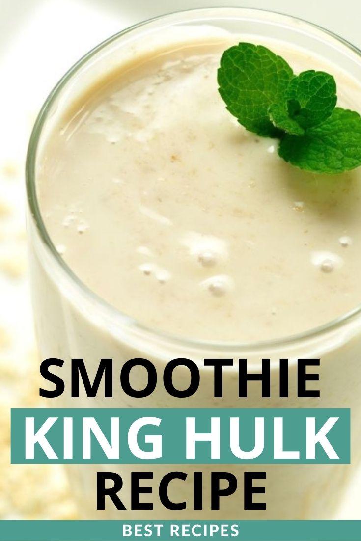 Smoothie King Hulk Recipe