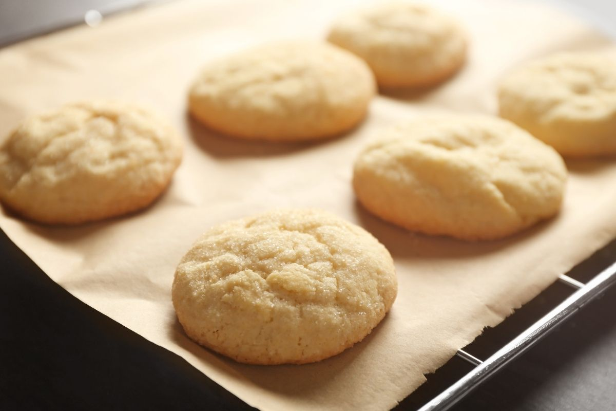 Baking Cookies on Parchment Paper