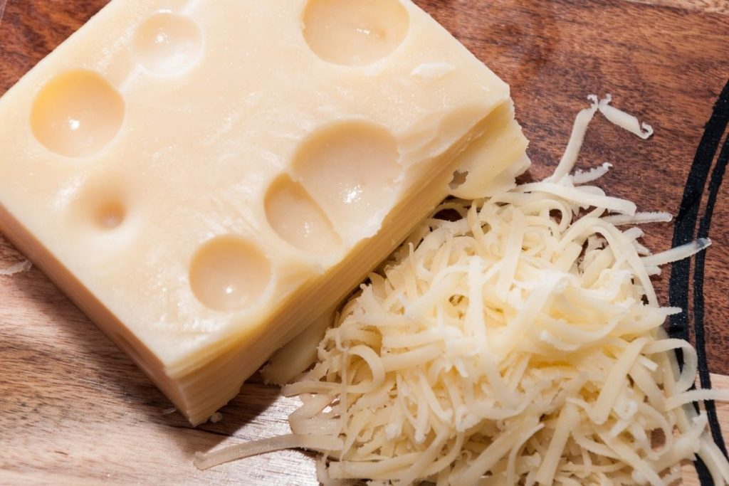 Emmental - Fontina Cheese Substitute