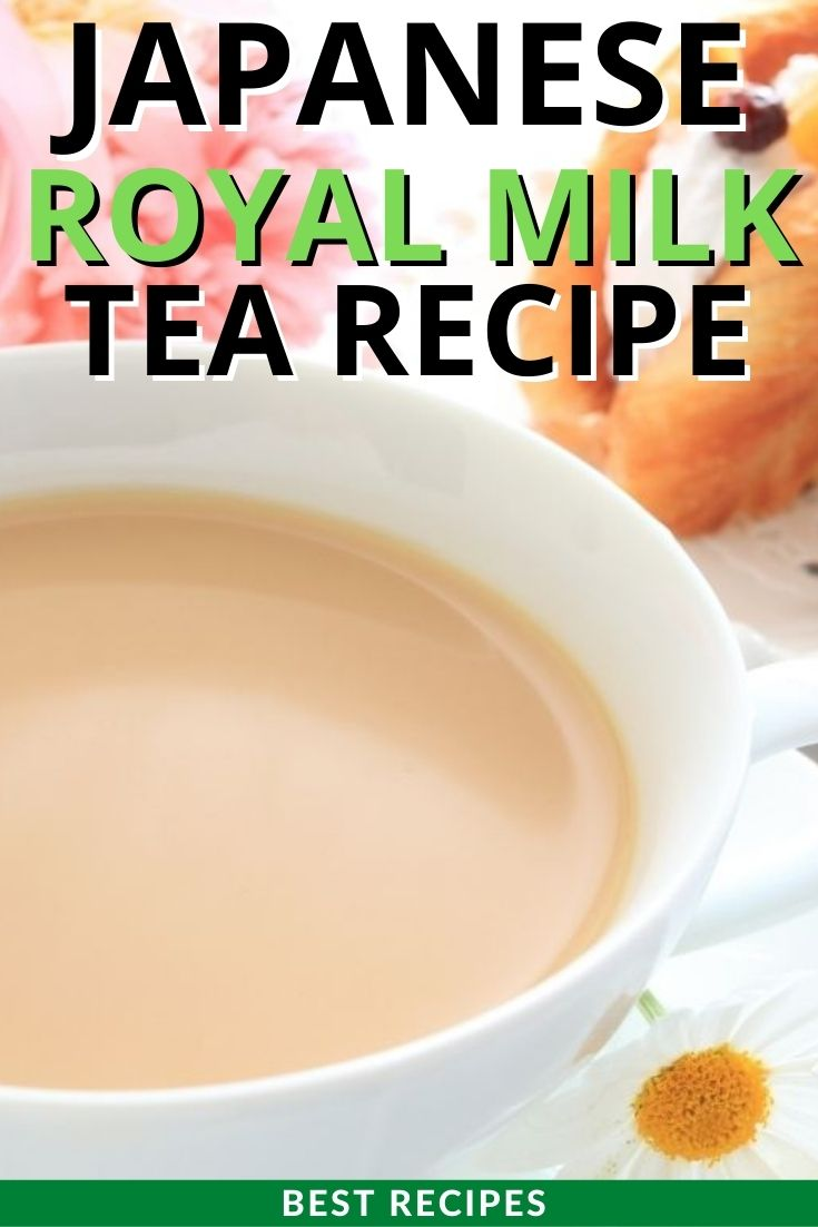 Japanese Royal Milk Tea Recipe