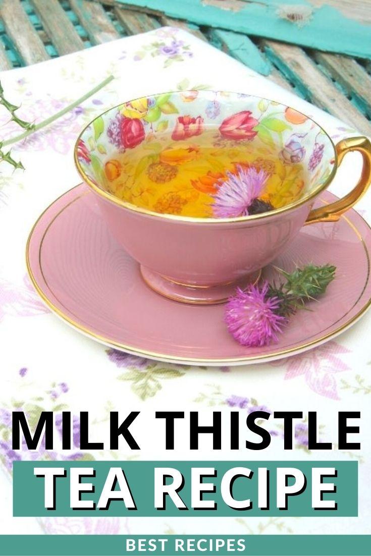 Milk Thistle Tea Recipe