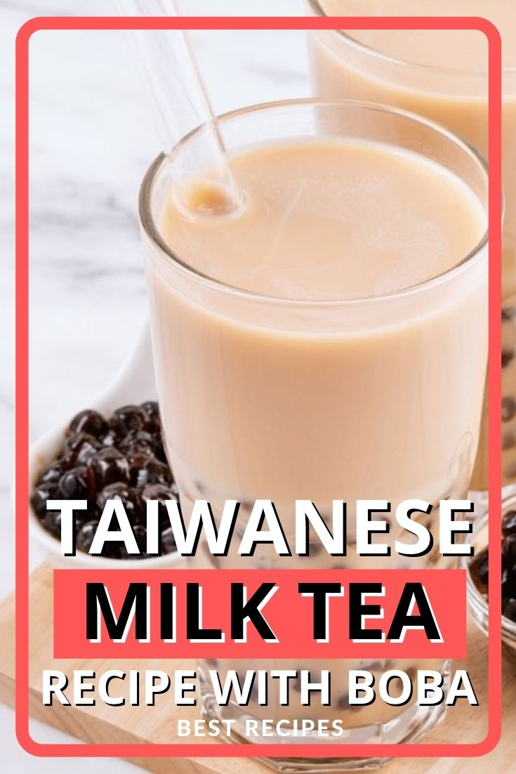 Taiwanese Milk Tea Recipe