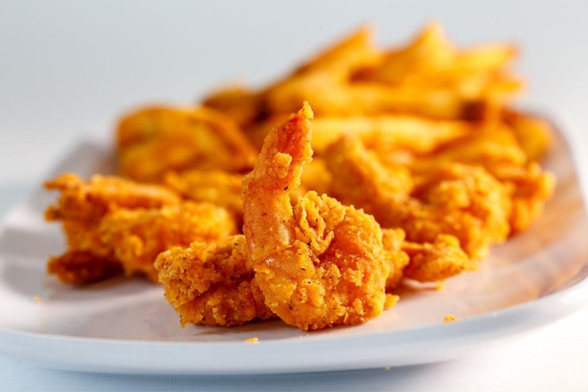 Reheat Fried Shrimp in Microwave