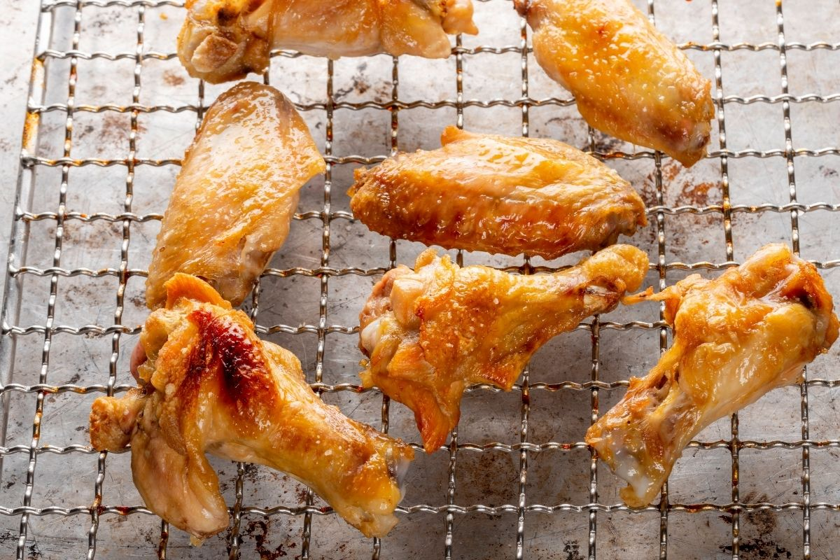 Reheat Chicken Wings Using Oven