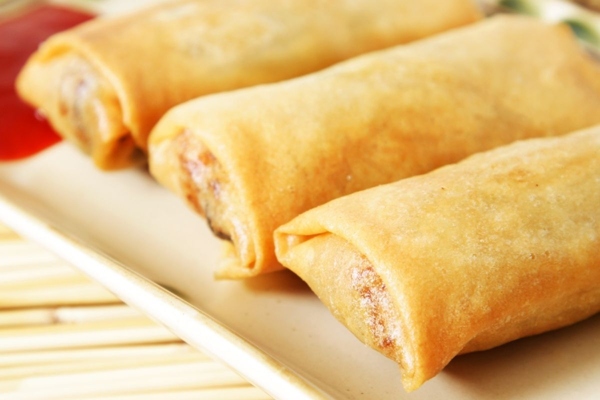 Reheat Egg Rolls in Microwave