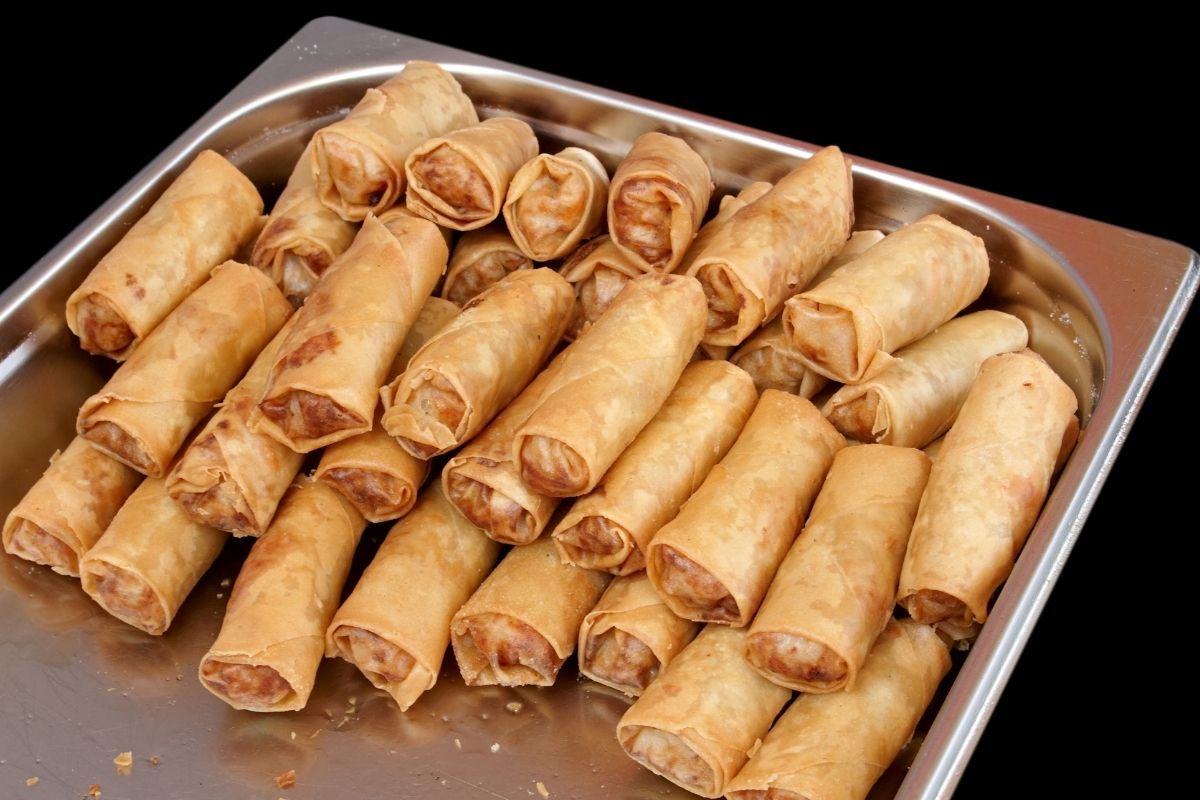 Reheat Egg rolls in an Oven