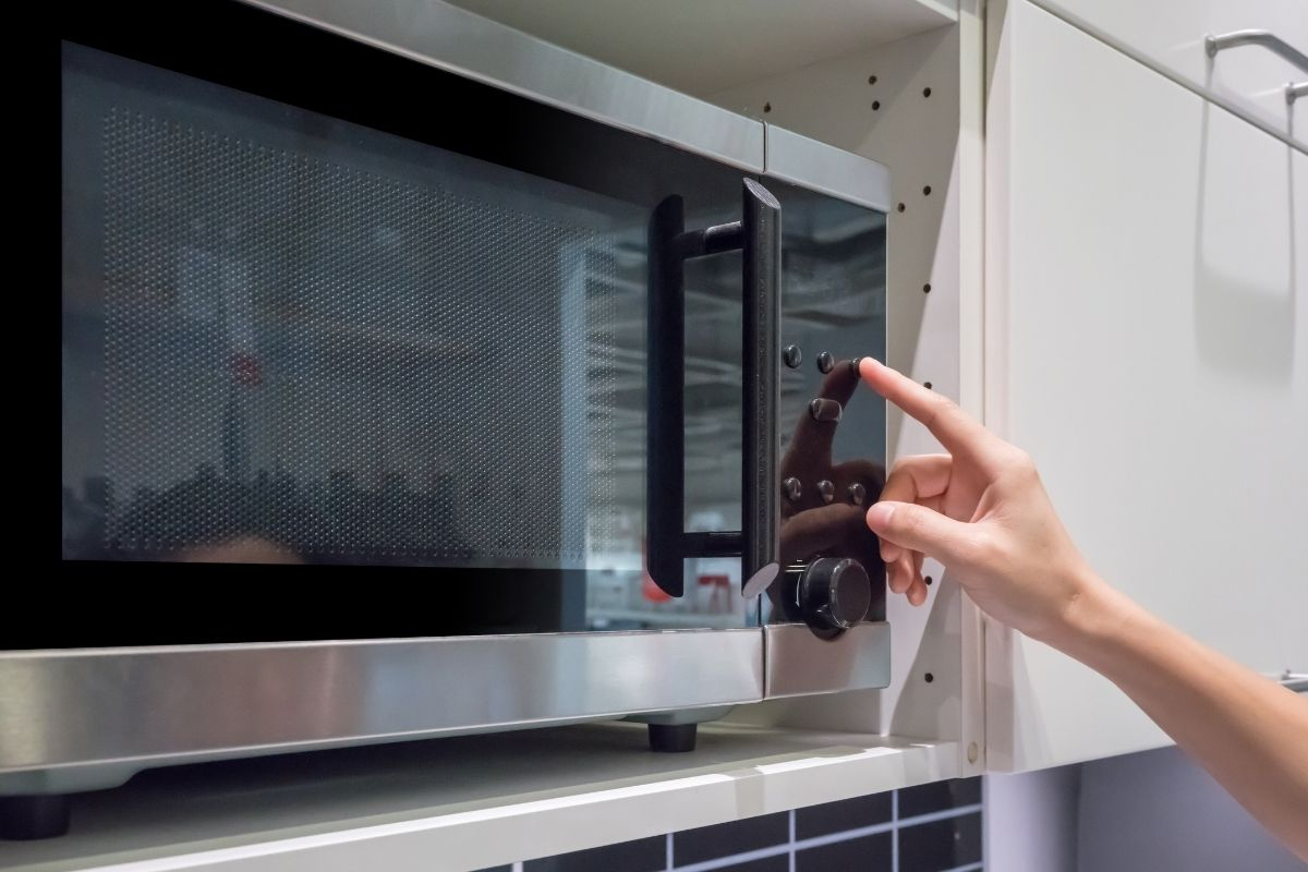 Reheat with a Microwave