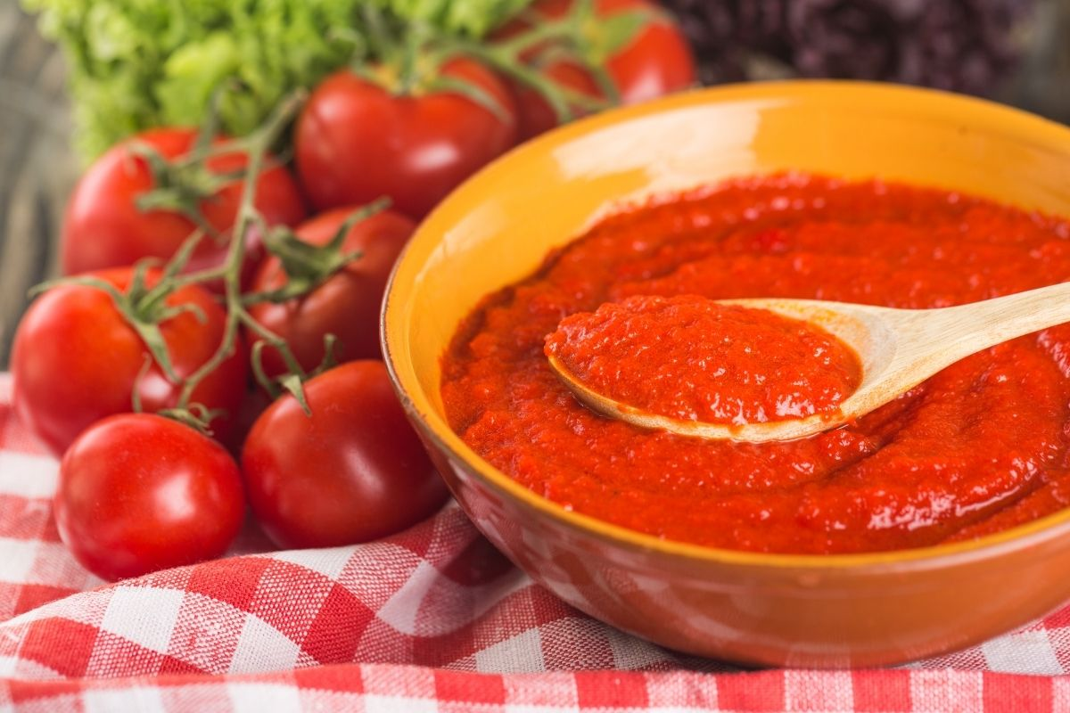 What is tomato sauce