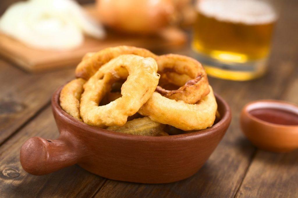 Beer-Battered Onion Rings
