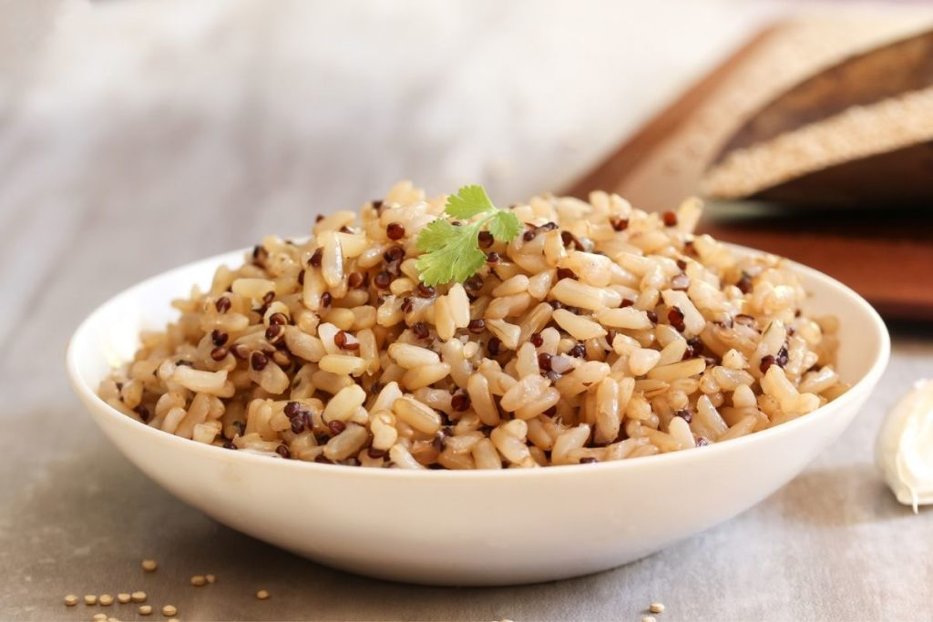 Brown Rice - Sides For Chicken Parmesan