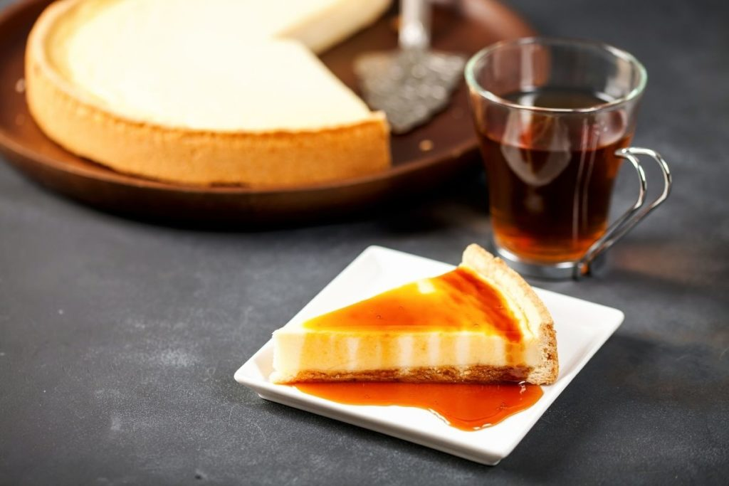 Caramel Syrup cheesecake topping