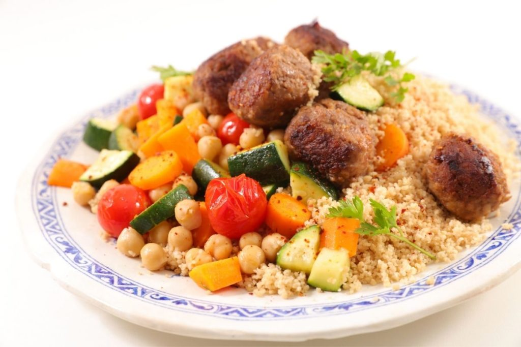 Cauliflower Rice - what to serve with meatballs