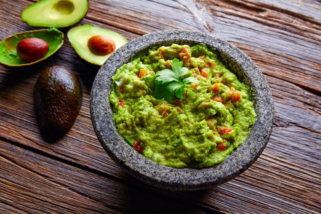 Guacamole - What To Dip Pretzels In