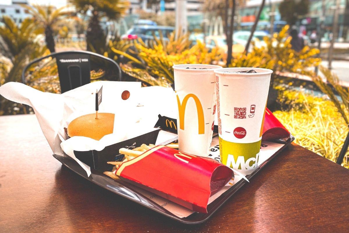 McDonald's Burger Meal