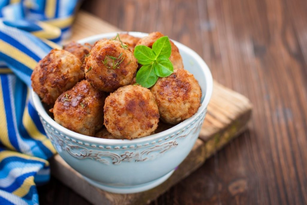 Meatballs - Side Dishes For Chicken Alfredo