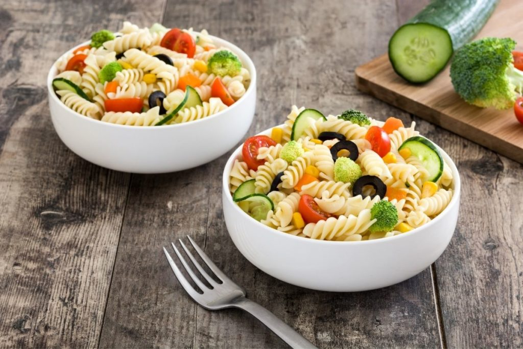 Pasta Salad - Sides For Meatball Subs