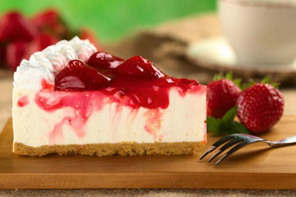 Strawberry Glaze Cheesecake