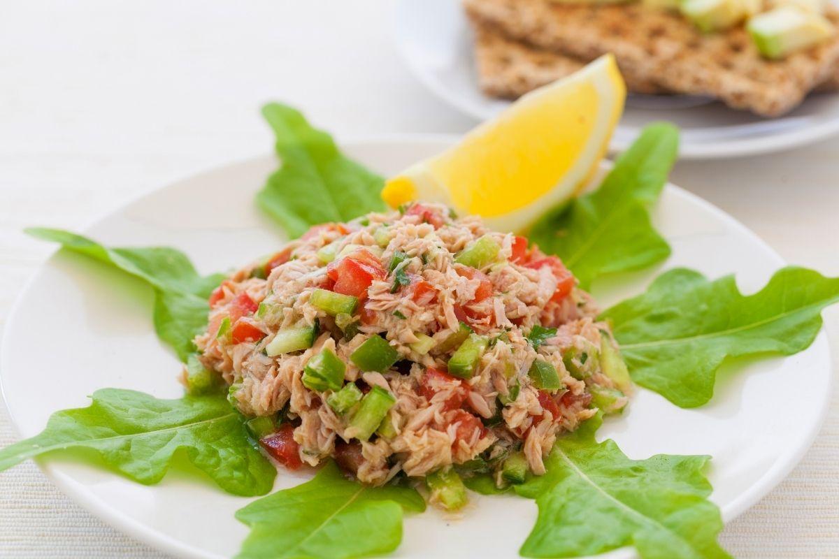Tuna Salad Appetizer