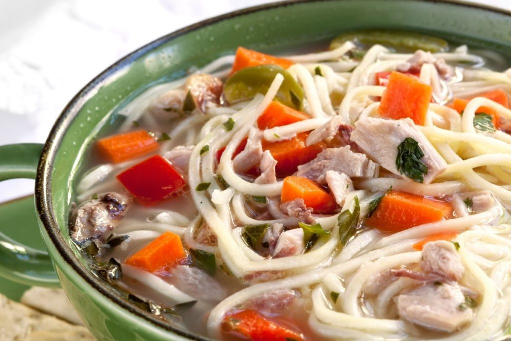 What To Eat With Chicken Noodle Soup