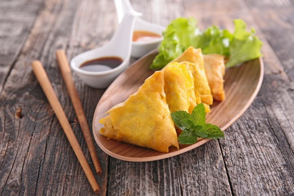 Samosas - Side Dishes For Curry Chicken