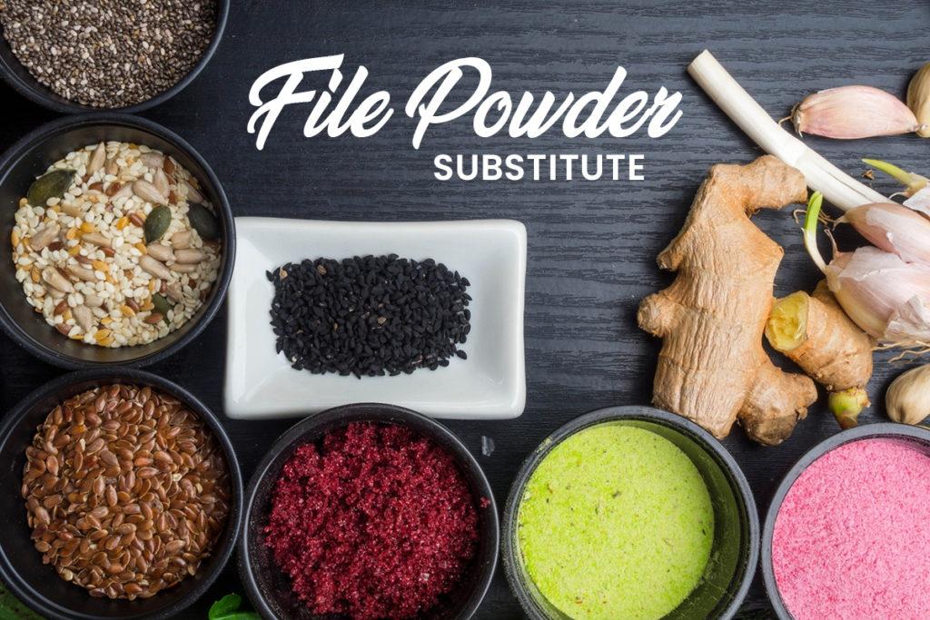File Powder Substitute