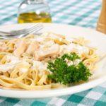 How to reheat Fettuccine Alfredo Pasta