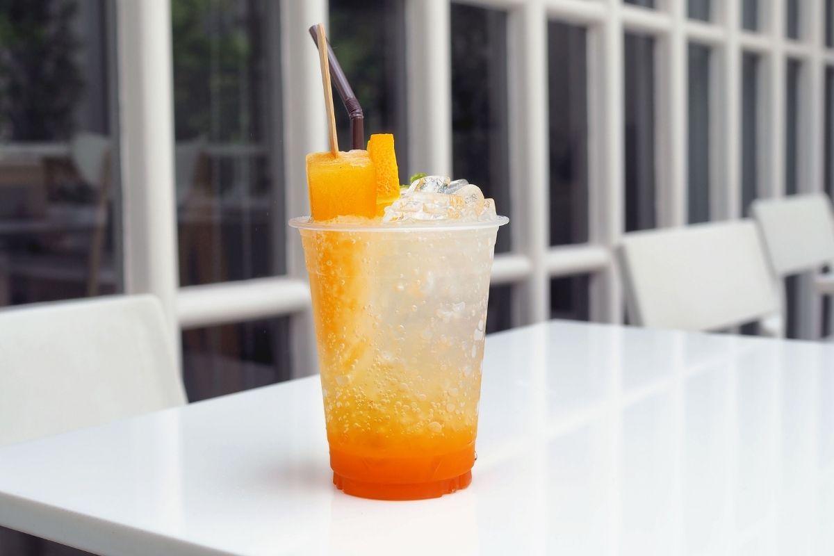 Orange Italian Soda