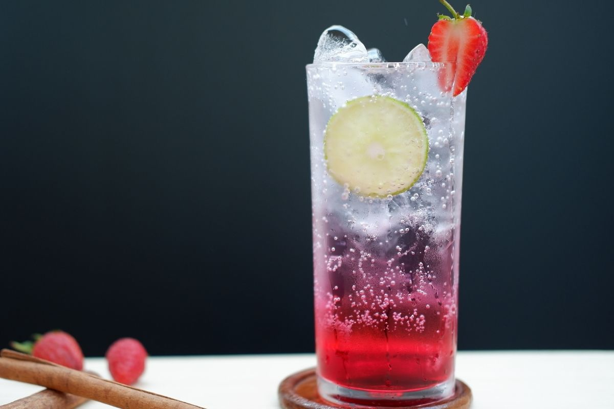 Strawberry Italian Soda