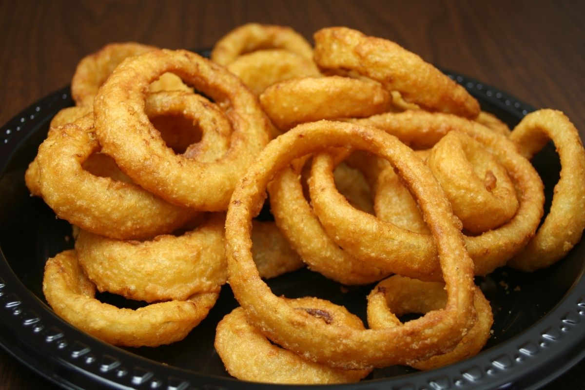 How to reheat onion rings in an air fryer
